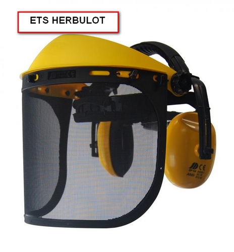 VISIERE + CASQUE ANTI-BRUIT 26DB