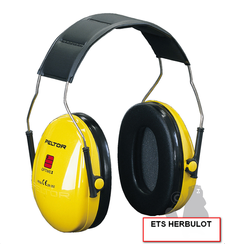 CASQUE ANTI-BRUIT 27DB